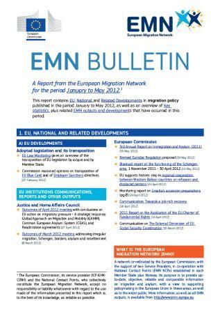 EMN Bulletin 1 (July 2012)